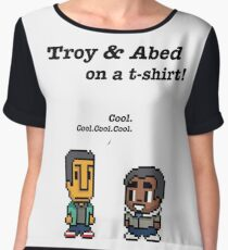 Troy and Abed · Community · TV show Chiffon Top
