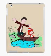Amy & Doctor iPad Case/Skin