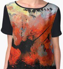abstract 6571040 Chiffon Top