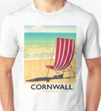 Cornwall beach classic travel poster Unisex T-Shirt