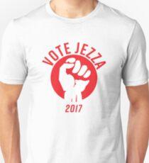 Vote Jezza 2017 Unisex T-Shirt