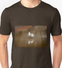 Gulls reflection, NSW Australia Unisex T-Shirt