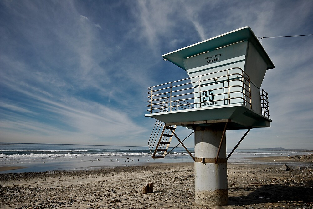 The Lifeguard Tower by pdavey