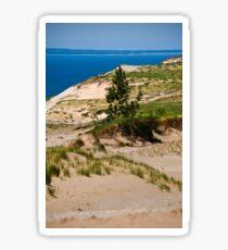 Lake Michigan Dunes Landscape Sticker