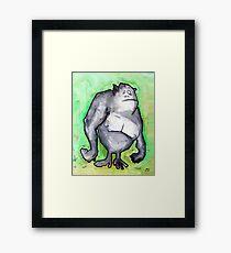Ape Framed Print