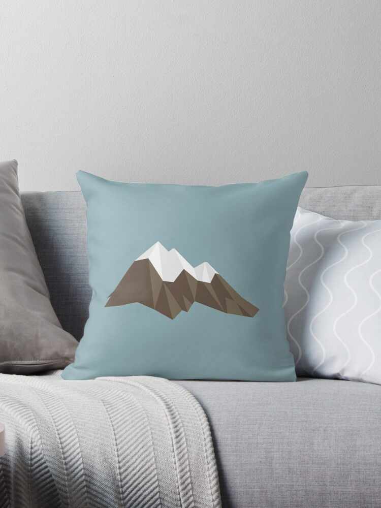 Geometric Mountains by blickwandler