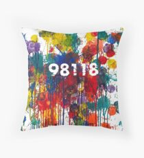 (No Bar) 98118 by Graham Hill K/1 Students Throw Pillow