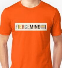 Fierce Mind Title Logo Colours Unisex T-Shirt