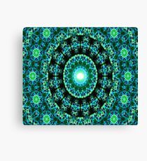 Dharma Garden (green) Canvas Print
