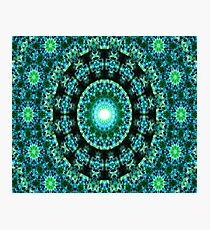 Dharma Garden (green) Photographic Print