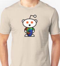Tie-Dye Reddit Alien  Unisex T-Shirt