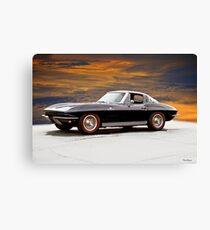 1964 Corvette Stingray 'Factory Fuelie' II Canvas Print