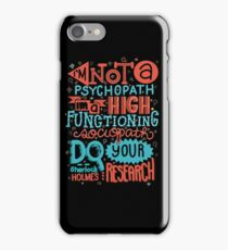 Do Your Research iPhone Case/Skin