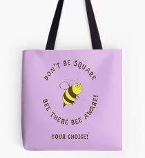 Bee There 6# Tote Bag
