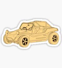 VW Dune Buggy Sticker