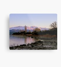 Winter Paradise... - Sunrise Wanaka - NZ Metal Print