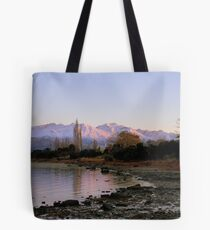 Winter Paradise... - Sunrise Wanaka - NZ Tote Bag