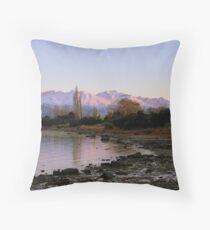 Winter Paradise... - Sunrise Wanaka - NZ Throw Pillow
