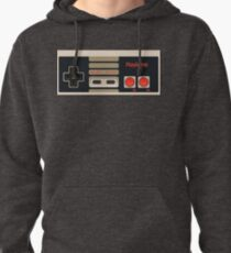 f62bb92590a7 Video Game Inspired Console Nes Classic Gamepad Controller Pullover Hoodie