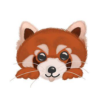 Red Panda by DesignsByEmma