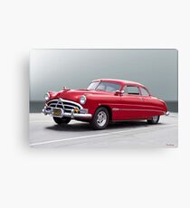 1950 Hudson 'Hot Rod' Hornet Canvas Print
