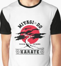 Karate Kid - Herr Miyagi Do Red Variant Grafik T-Shirt