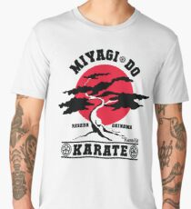 Karate Kid - Mr Miyagi Do Red Variant Men's Premium T-Shirt