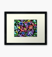 A Beautiful Bouquet of Flowers at the local Farmers Market in Oregon Framed Print