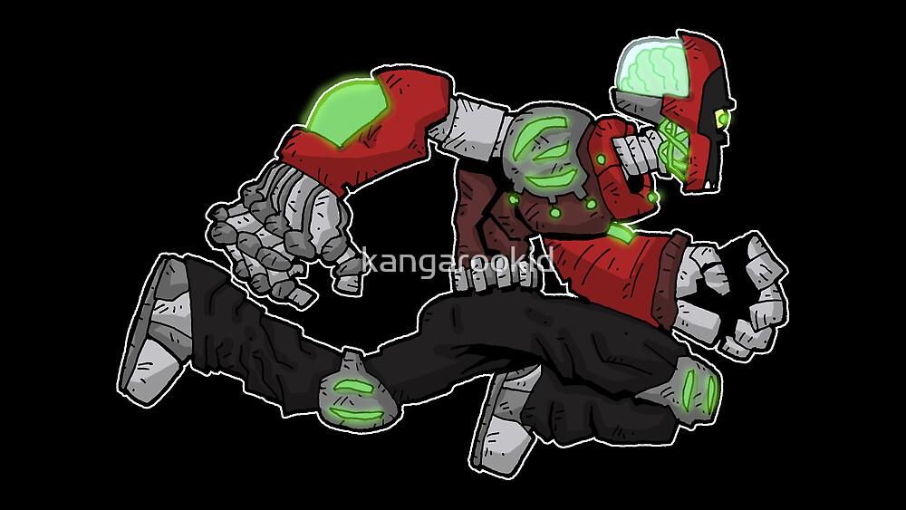 battle bot: brain-o-matic by kangarookid