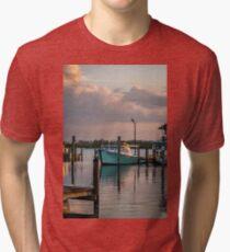 The DockOar at Sunset Tri-blend T-Shirt