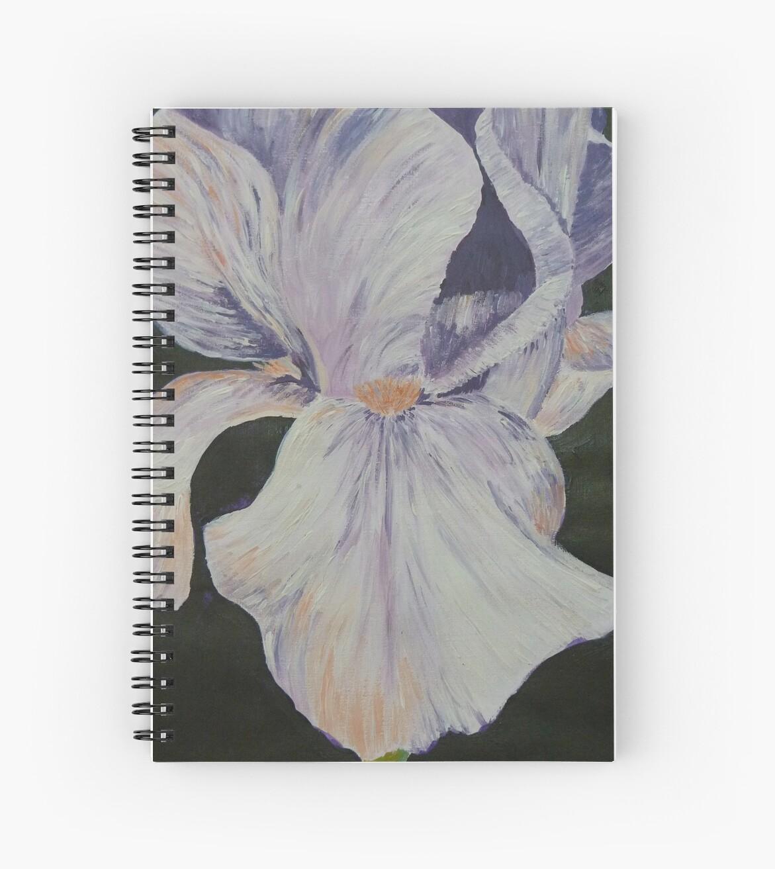Purple Iris 3 by Jan Palmer