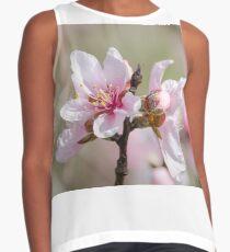 Peach Blossoms 7 Contrast Tank