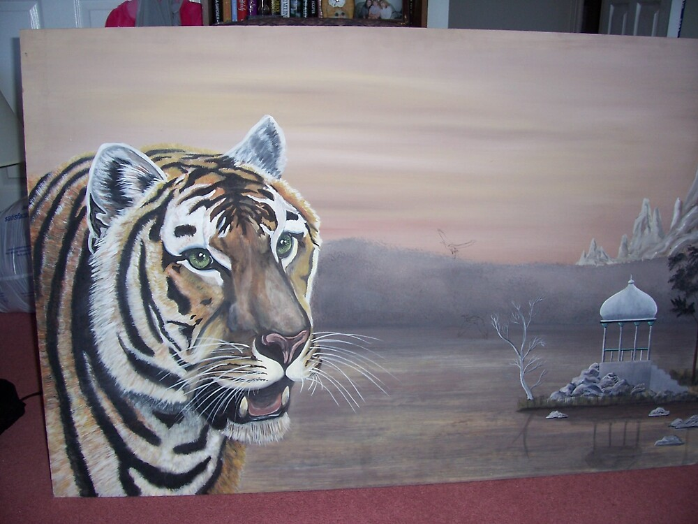 unfinished tiger by bullerwell