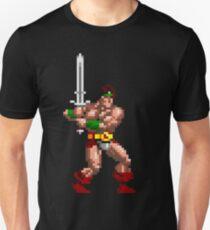 Rastan Pixel Art Unisex T-Shirt