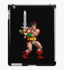 Rastan Pixel Art iPad Case/Skin