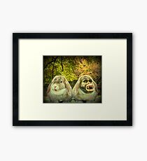 Dr. Jekyll and Mrs. Hyde Framed Print