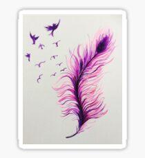 Freedom Feather Sticker