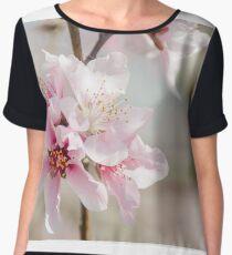 Peach Blossoms 9 Chiffon Top