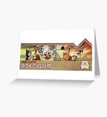 Doki Doki Panic (super mario land 2) Greeting Card