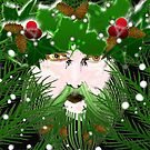 Androgynous Green Man by Trinton TrinityHawk Garrett