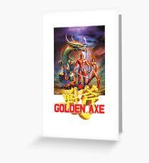 Golden Axe - Sega Greeting Card