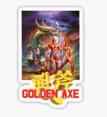 Golden Axe - Sega Sticker
