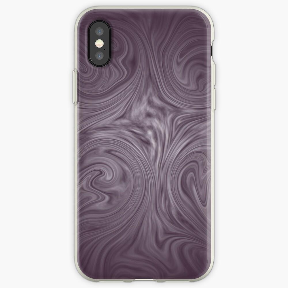 dusky purple iPhone Case & Cover