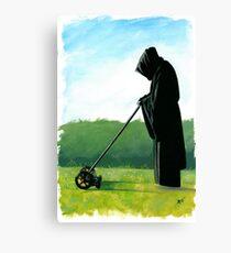 The Grim Mower Canvas Print