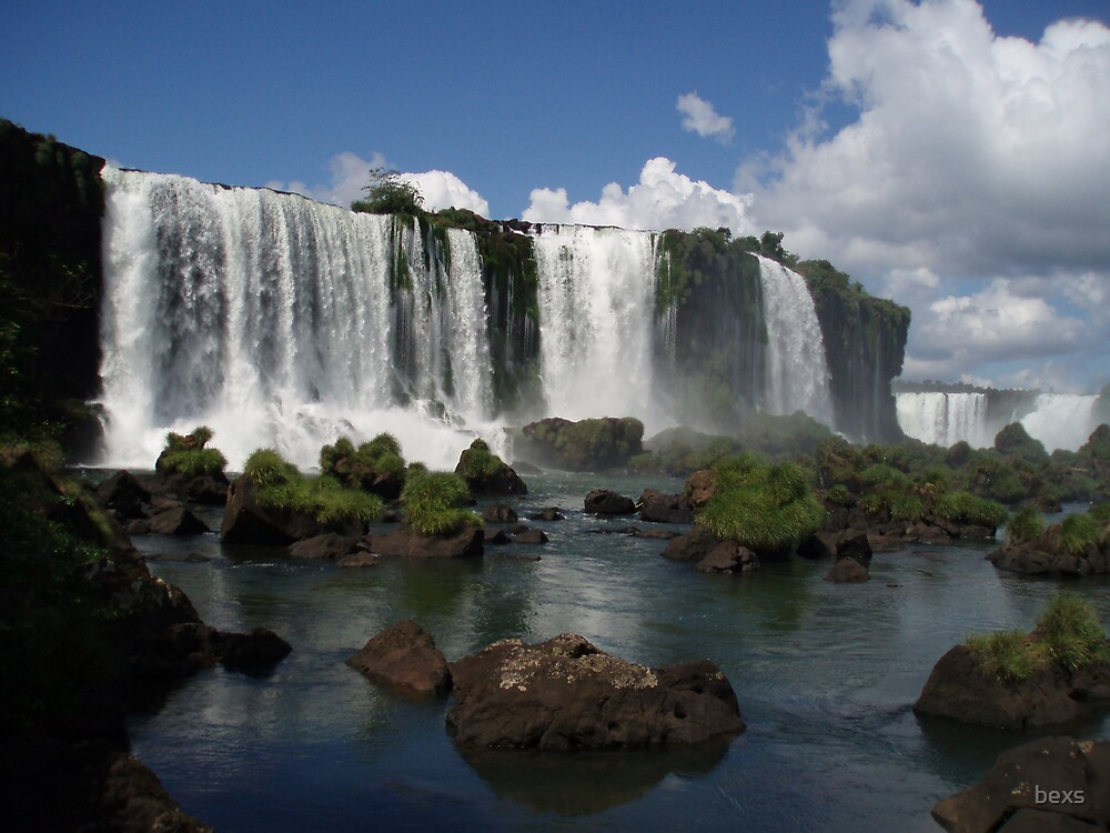 Iguazu Falls, Brazil by bexs