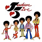 Jackson Five T-shirt by Keith Henry Brown