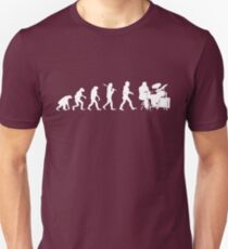 Funny Drummer Evolution T-Shirt - Awesome Band Tee Unisex T-Shirt