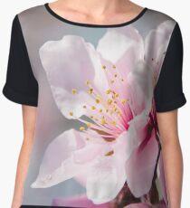 Peach Blossoms 12 Chiffon Top