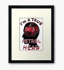 Petrolhead Framed Print