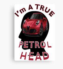 Petrolhead Canvas Print